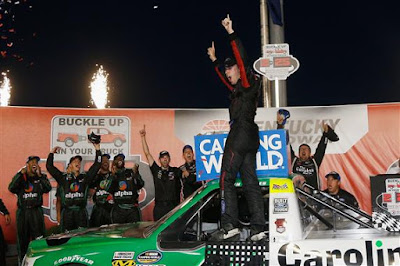 Ben Rhodes Buckles Up Home Track Victory - #NASCAR #NCWTS
