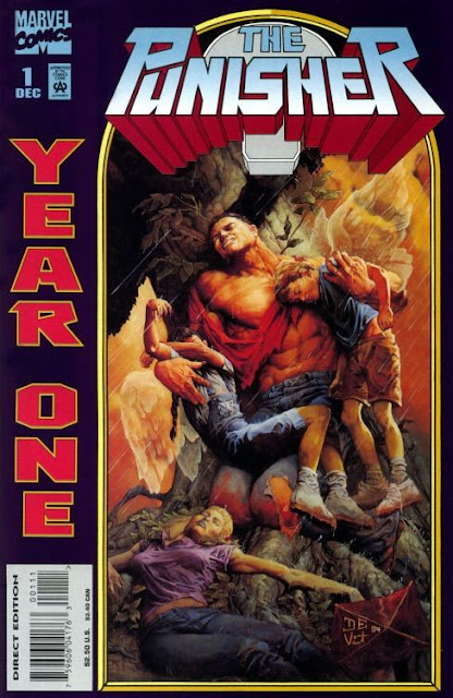 Punisher Año Uno relata el origen del Castigador, desde la muerte de su familia a manos de criminales