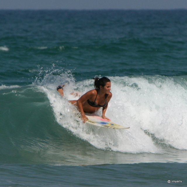 Surfing Israel photos