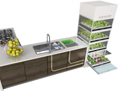 Sistema idroponico Ikea per la coltivazione di piante (in cucina ...