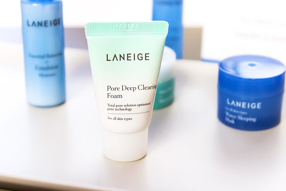 Laneige Pore Deep Clearing Foam review