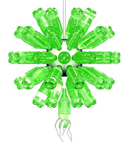 How to Recycle: Decorative Plastic Bottles Lighting