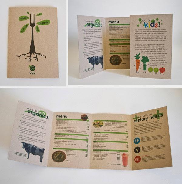 Examples Of Holiday Brochures Sample Restaurant Brochure Pro