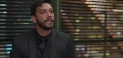 DNA de Diogo (Armando Babaioff) será descoberto em chiclete e complicará a situação do vilão