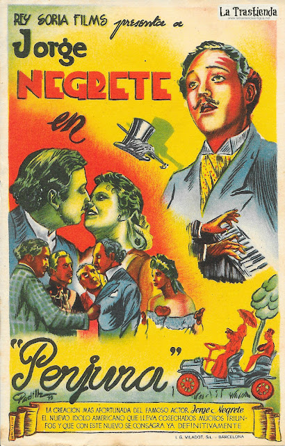 Perjura - Programa de Cine - Jorge Negrete