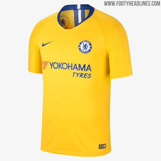 fae3bf80d Chelsea 18-19 Away Kit. Chelsea Away Kit 2018-19. Buy now. Free worldwide  delivery on all orders