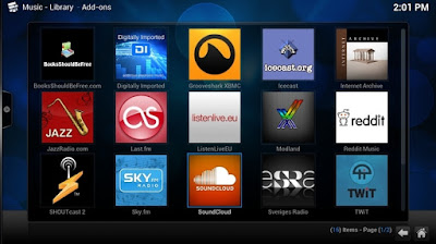Software Multimedia Streaming TV & Musik