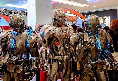 cosplay robot ultron