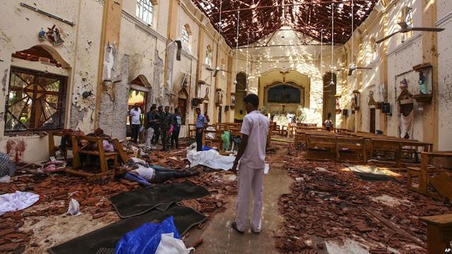Governo do Sri Lanka culpa grupo terrorista local por atentados