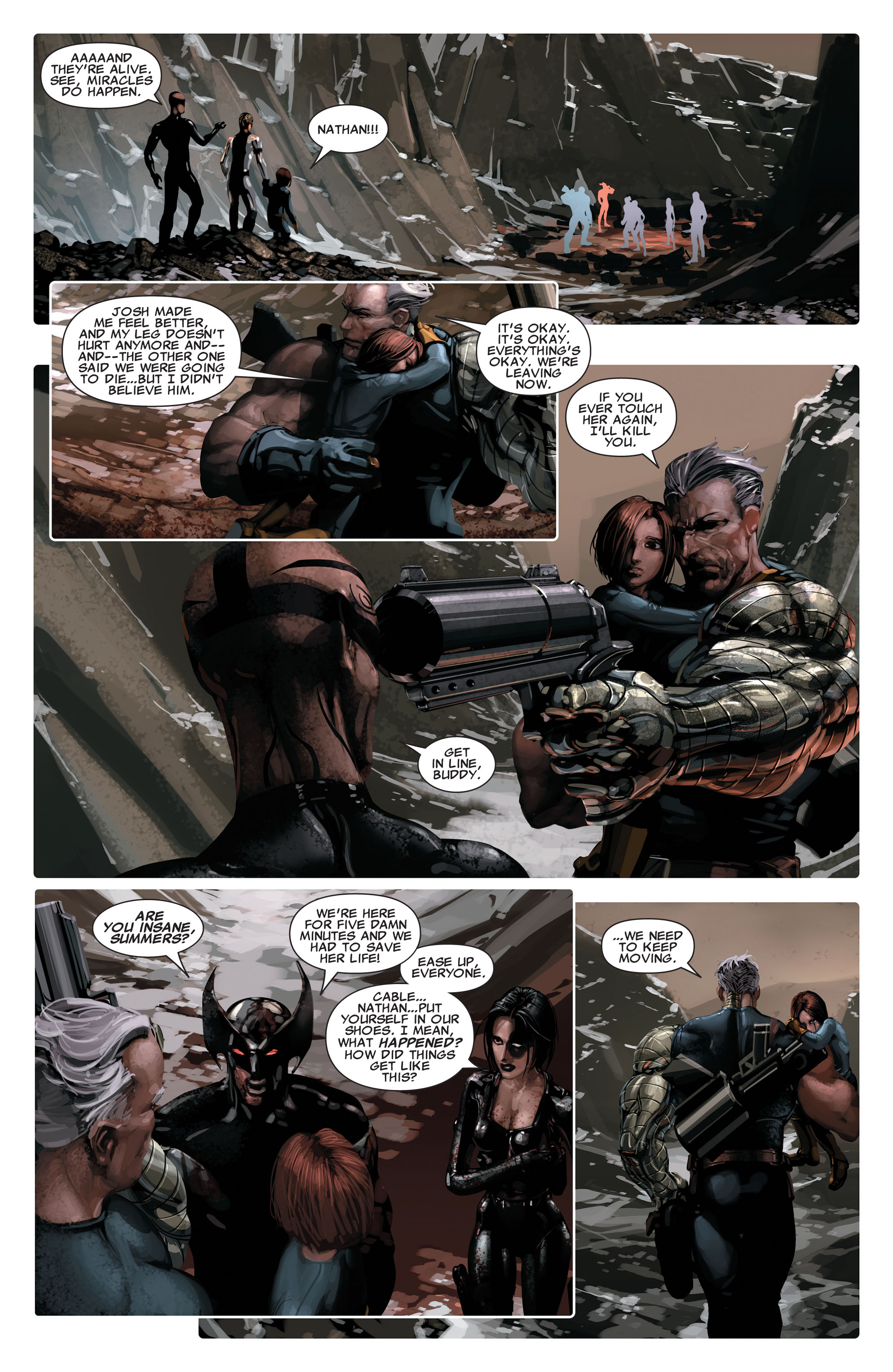 Read online X-Force (2008) comic -  Issue #14 - 12