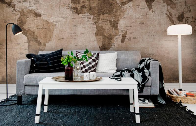 Uma ideia para você amar: café nas paredes!