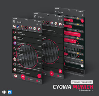Munich Theme For C-YOWhatsApp Download By Teguh Ari Wibowo