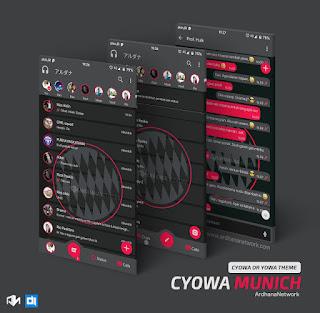 Munich Theme For C-YOWhatsApp Download By Teguh Ari Wibowo