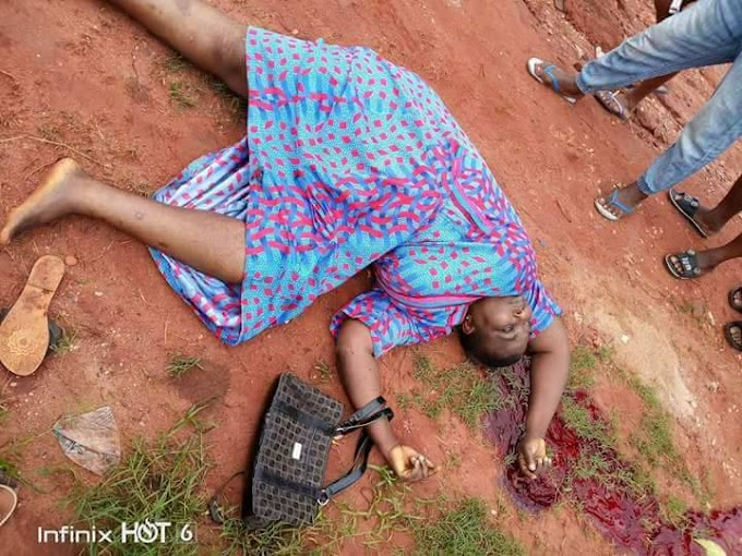 A police officer shot a young woman this morning at Oba market area close to Onitsha Anambra State
