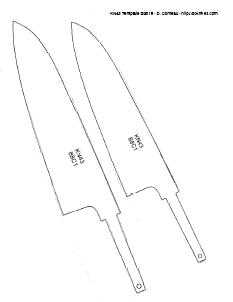 diy knifemaker s info center knife patterns v