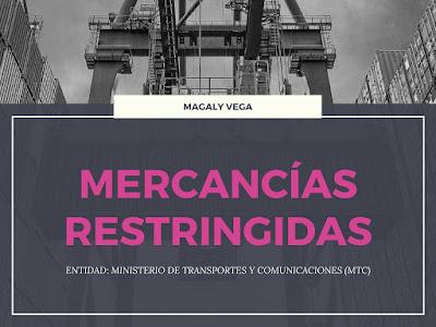 Importar Mercancías Restringidas MTC
