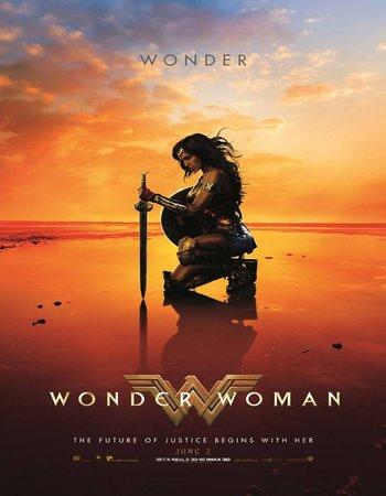 Wonder Woman (2017) HINDI SUBS English blurayRip 720p 1GB