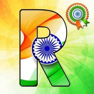 Alphabet Tiranga Image | Letter Name Tiranga Images for Whatsapp Dp | Happy Independence Day | 2018 , 4Fanviews