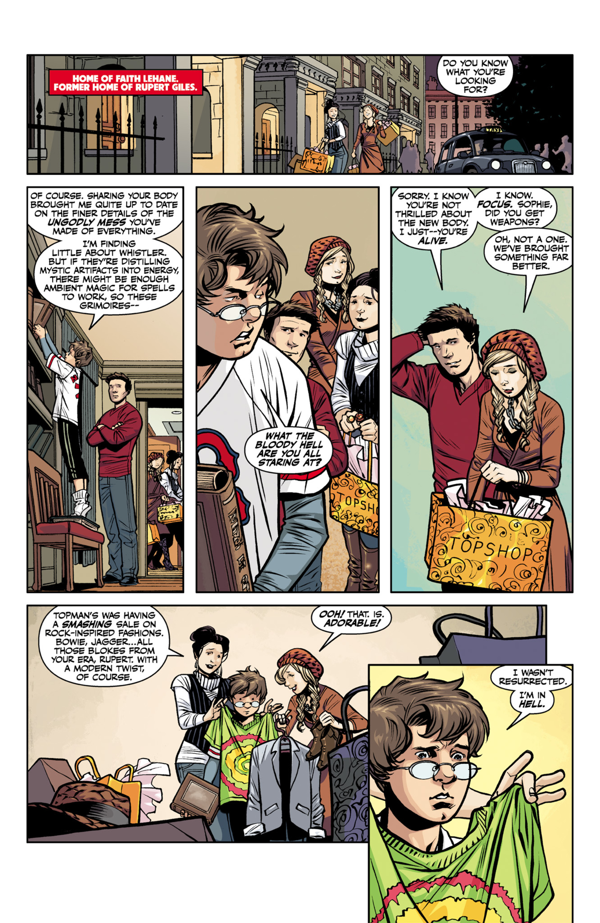 Read online Angel and Faith comic -  Issue #22 - 13