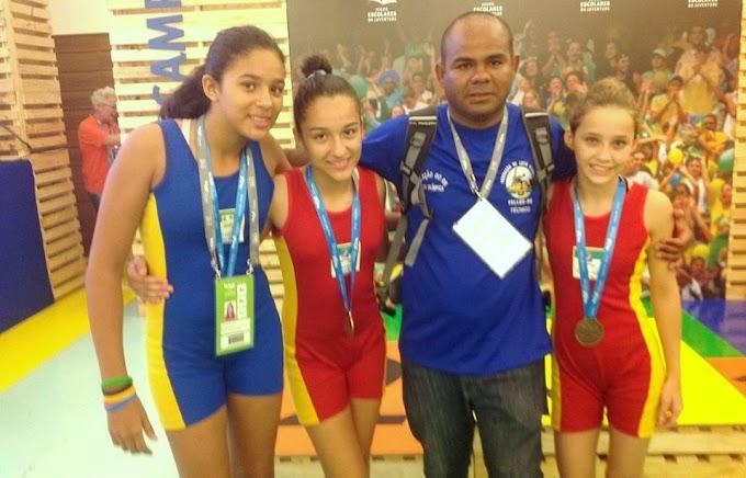 Natal: Alunos de escola estadual representam RN na Luta Olímpica nos Jogos Escolares Brasileiros