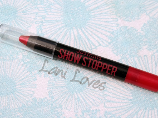 Australis Showstopper Stick - Fireworks Swatches & Review