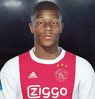 PES 2018 Faces David Neres by Prince Hamiz