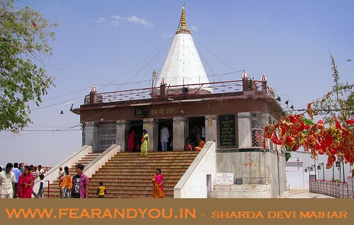 haunted sharda devi temple is one of the most prime tourist places in Madhya Pradesh