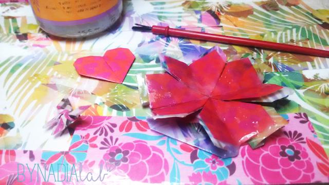 bynadialab lavorazione origami