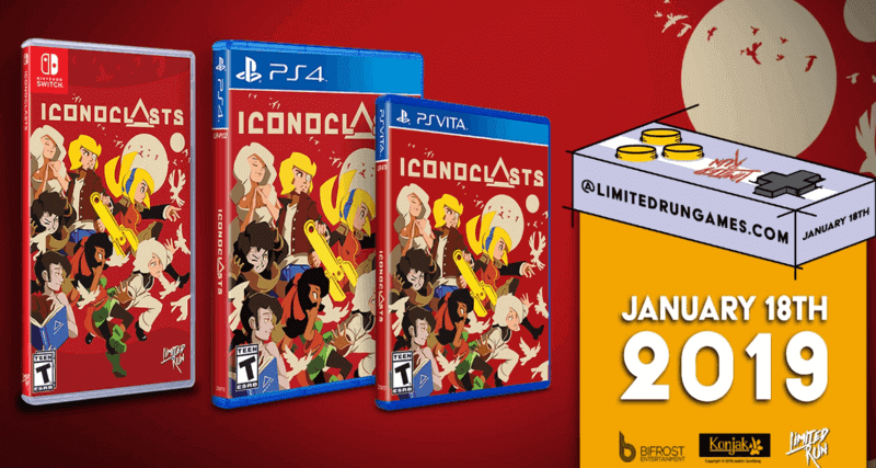 Iconoclasts Gets A Physical Release On January 18, 2019