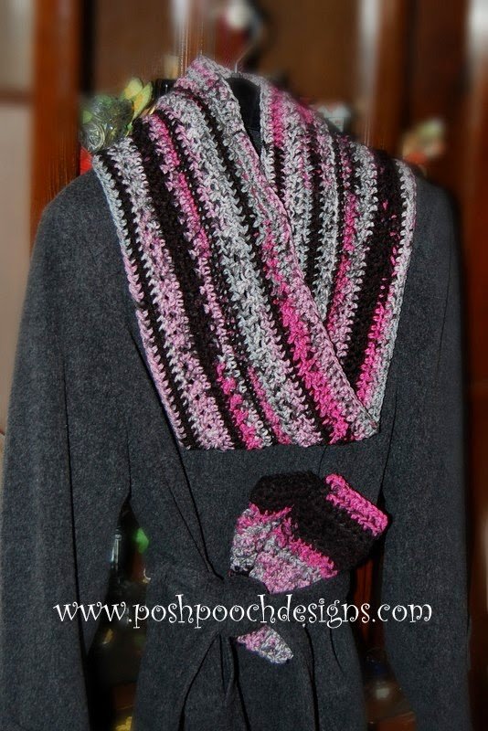 Mobius Scarf Knitting Pattern Infinity : Posh Pooch Designs Dog Clothes: Infinity Scarf - Mobius Scarf - The Scarf wit...