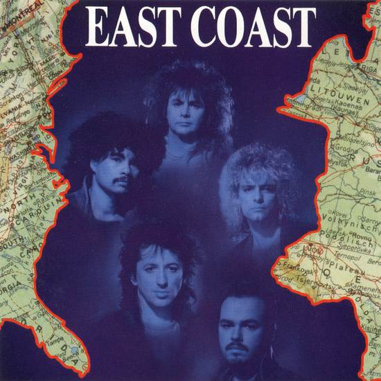 EAST COAST - East Coast (1988) [original Dutch CD] front