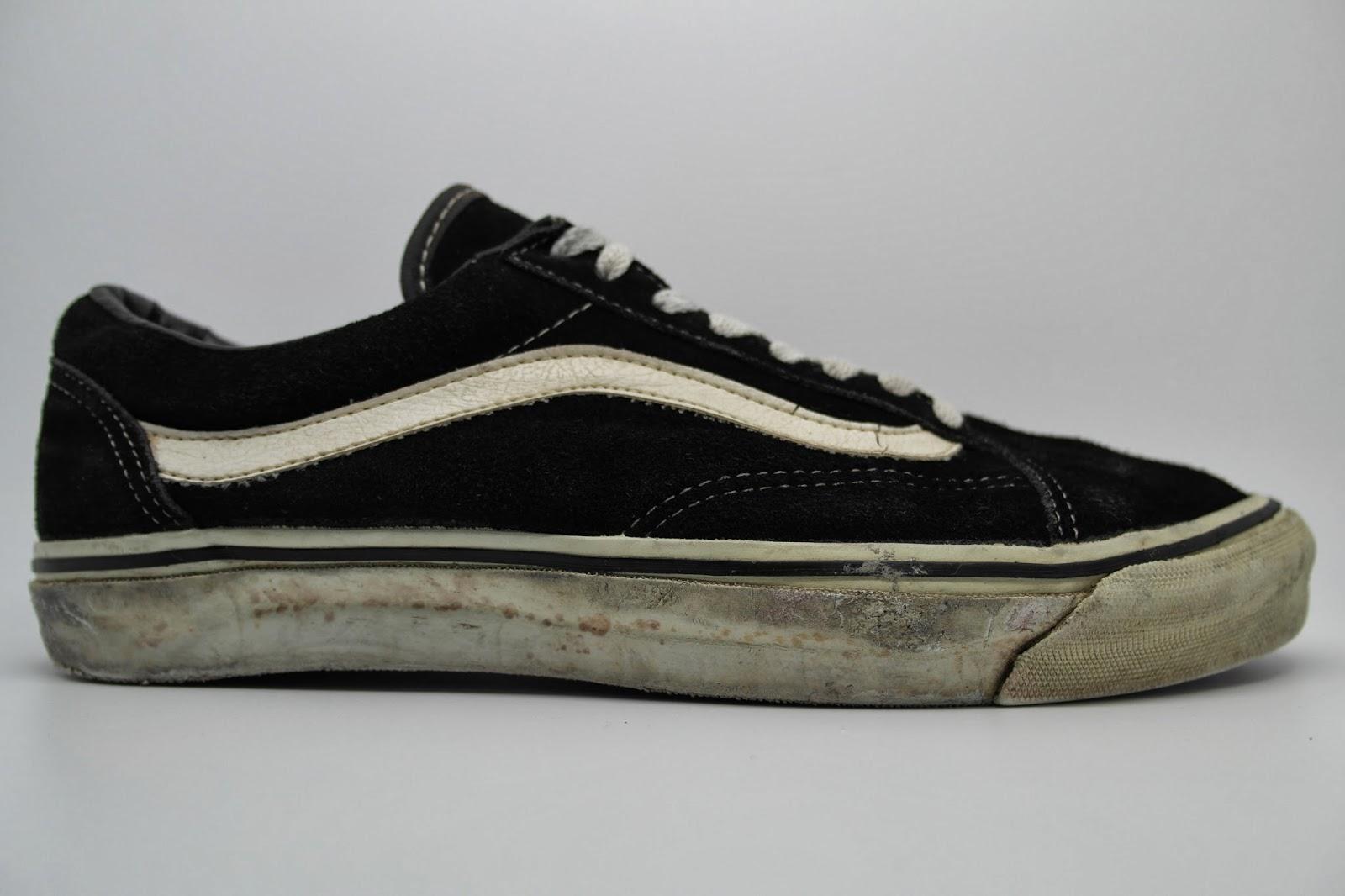 Buy black vintage vans 562a4a466b
