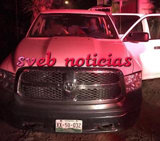PRESUNTO ASALTO en la muerte del Alcalde de Ixhuatlán de Madero