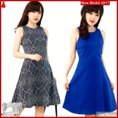 JDB012 FASHION Dress Perempuan Skater Dress BMG
