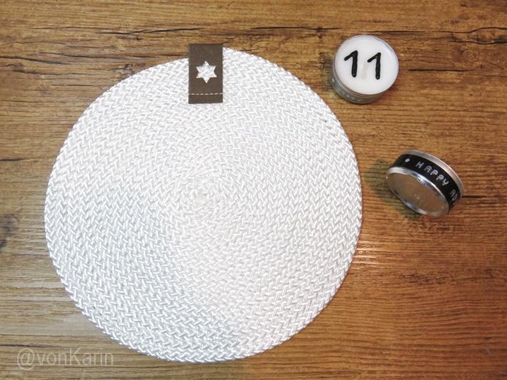 Untersetzer aus Seil - DIY vonKarin - genaeht