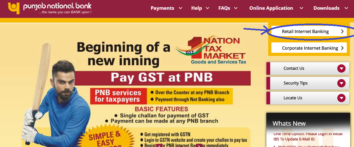 how to start internet banking in pnb account
