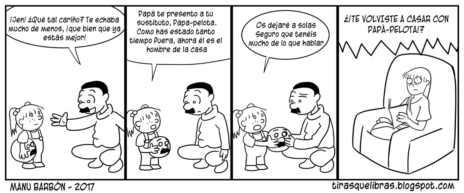webcomic jen se reencuentra con su padre