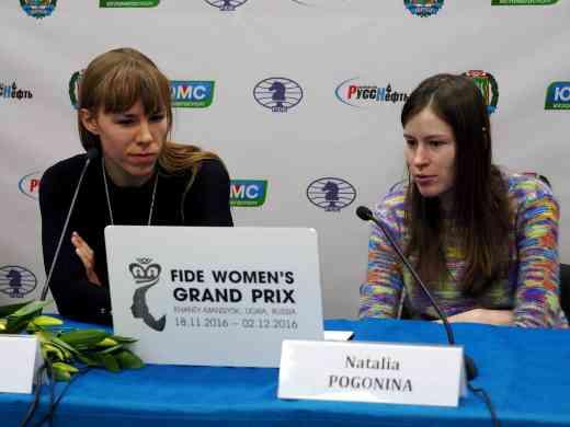 Le Grand Prix Fide Féminin de Khanty-Mansiysk - Photo © site officiel