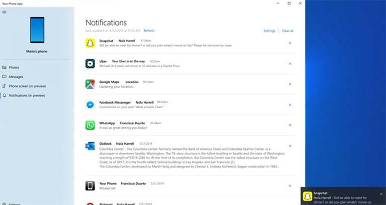 Menampilkan Notifikasi Android Pada Perangkat Windows 10 Secara Real Time