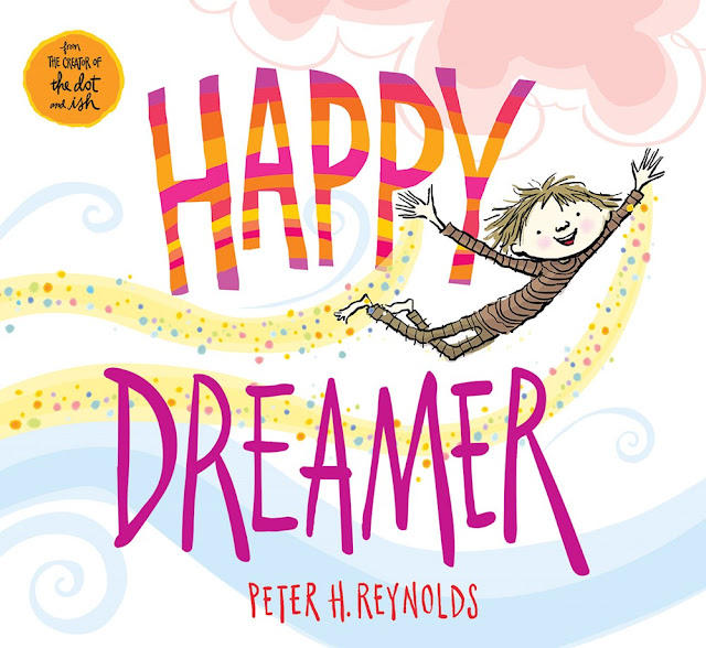 Celebrate someone in your life with the new Happy Dreamer book from Peter R. Reynolds. Enter to win a giveaway for the book and a $50 Toys R Us gift card, too!