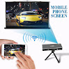 ELP WIFI Wireless Mini Video Projectors For Indoor Outdoor Movie Night Home Theater