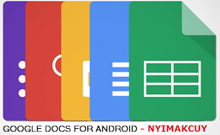 Google Docs, Sheets dan Slides
