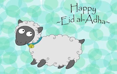 Gambar Selamat Hari Idul Adha Kambing Lucu