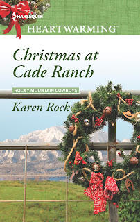 Christmas at Cade Ranch by Karen Rock cover