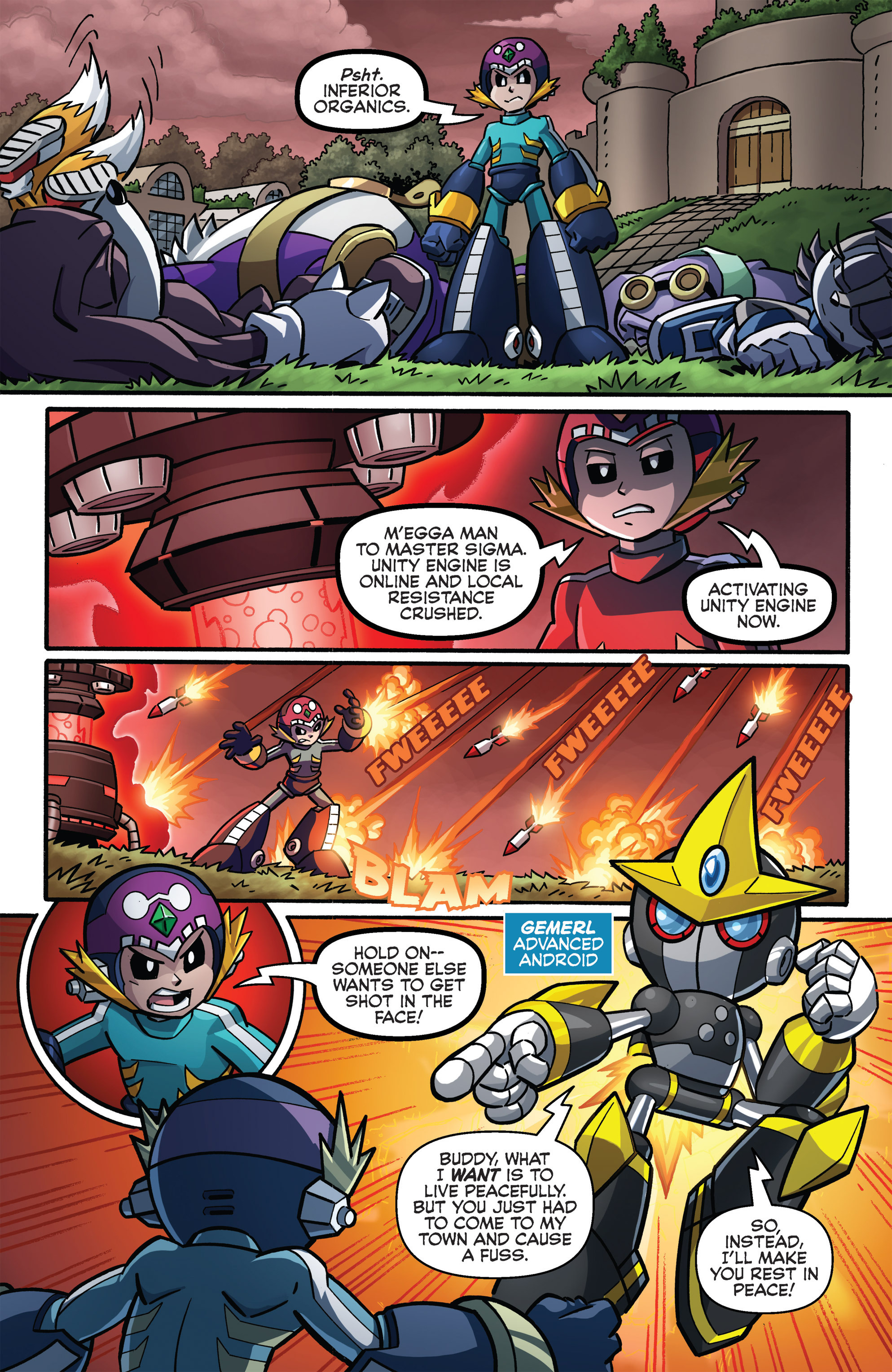 Read online Sonic The Hedgehog comic -  Issue #273 - 16