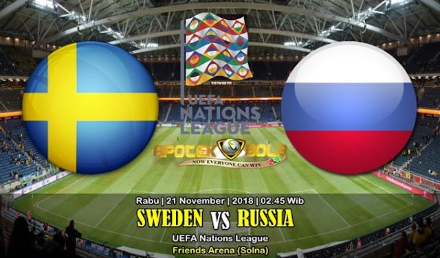 Prediksi Sweden Vs Russia 21 November 2018