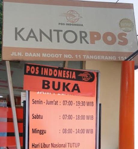 Info Terbaru Jam Buka Kantor Pos Tangerang Jam Buka Layanan Kantor Pos