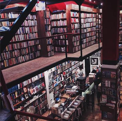 Livraria em Montevideu em fevereiro de 2017