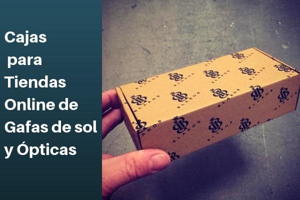 cajas para tiendas online de gafas de sol y ópticas