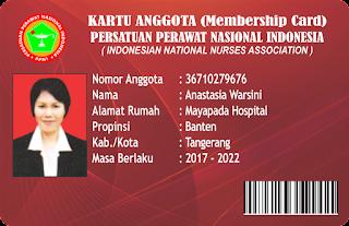 Kartu Member PPNI